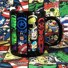Disney Ceramic Mug Cute Cartoon Comic Mug Simple Large Capacity Water Cup Breakfast Cup Milk Cup Coffee Cup