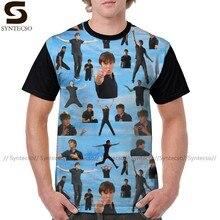 Футболка для старшей школы, забавная Классическая футболка с изображением Зака, эфрона Троя, Болтона, Бета, Мужская футболка с графическим р...