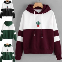 ZOGAA Fashion New Women Color Block Patchwork Corduroy Hooded Jacket Girls Cute Casual Zipper Hip Hop Coat Over Sized Hoodies hooded color block ribbed coat