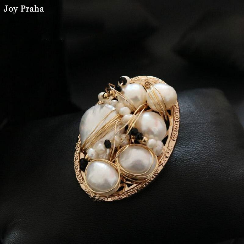 Original baroque pearl brooch / Retro clothing accessories / wholesale dropshipping