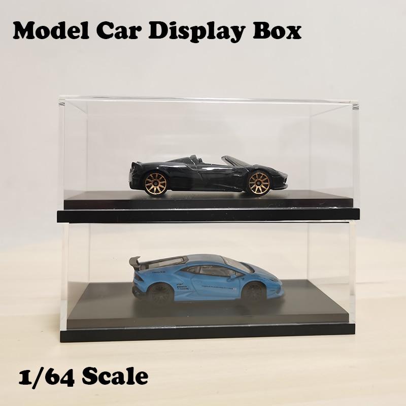 164 modelo carro acrilico caso transparente 04