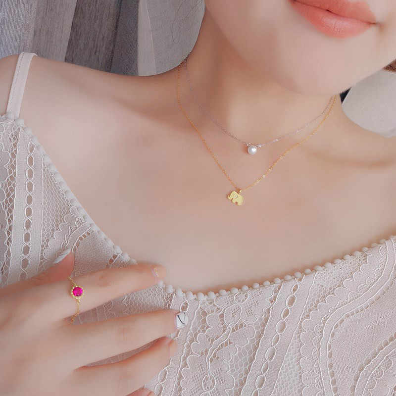 ホット販売 26 スタイルファッション女性チョーカーネックレス猫耳天使の羽の鳥動物サークル幾何学的な魅力鎖骨チェーン襟