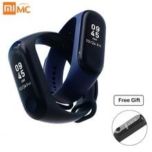 Original Xiaomi Mi bande 3 Smart miband 3 Bracelet fréquence cardiaque Fitness sport 0.78 pouces OLED affichage 20 jours en veille bande 2 mise à niveau