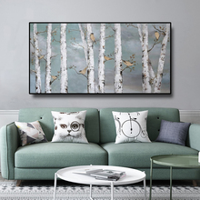 купить Nordic Wall Art Forest Landscape Abstract Canvas Painting Posters And Prints Wall Decor Picture Living Room Bedroom Decoration в интернет-магазине