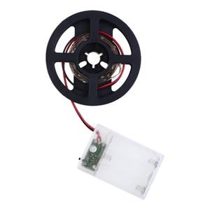 Image 5 - LED רצועת אור SMD 5050 גמיש אור USB/סוללה מופעל 1M 2M 30 נוריות רצועת שולחן העבודה דקור מסך טלוויזיה רקע תאורה D40