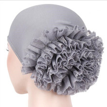 10 шт. мусульманский хиджаб шарф внутренние шапочки под хиджаб дамы исламский крест оголовье тюрбаны Hairband хиджаб для мусульманок головной платок