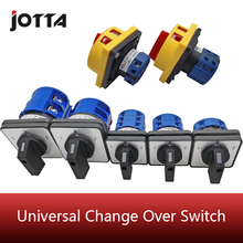 universal switch 1-0-2 ON-OFF joint Reversing switch 20A 32A 63A versatile change-over switch cutoff switch cheap JOTTA CN(Origin) Conventional LW26