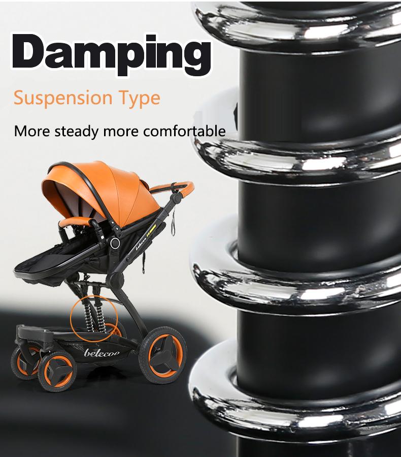 luxury baby stroller 3 in 1 (3)