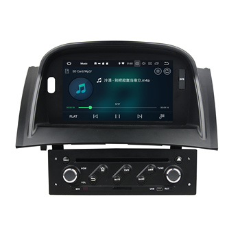 7 Separate Android 10.0 PX6 Car Radio For RENAULT Megane II 2004-2009 Car Multimedia Player 4+64G Audio 6 Core Stereo DSP 4+32G image