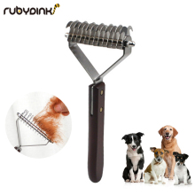 Pet hair knot cutter cat dog hair removal trimming beauty massage does not hurt