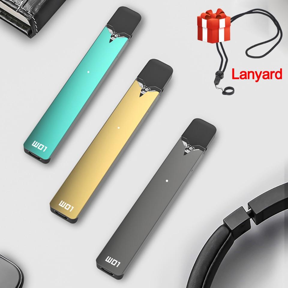 Newest Original OVNS W01 Pod Vape Kit LED Power Indicating Pod System Vape Pen Electronic Cigarette Kit VS Minifit Kit