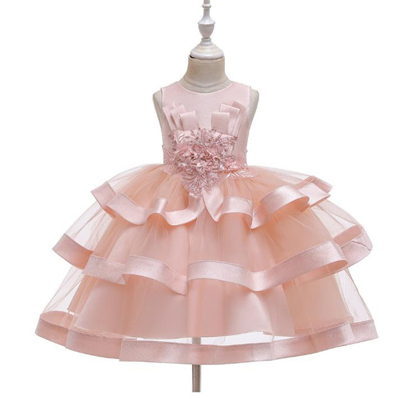 Baby Girl Clothes Kids Dresses For Girls Christmas Clothing Princess Dress New Year Party Children Cosplay Costume