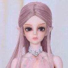 Isoom Asis BJD poupées 1/6 jolies fées minces ailes Option jouet pour les filles meilleur cadeau danniversaire Unique clair de lune Sprite Mini gemme