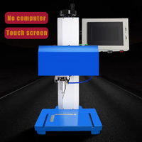 Dot Pin Marking Machine For Tube Desktop Dot Pin Marking Machine Rotary