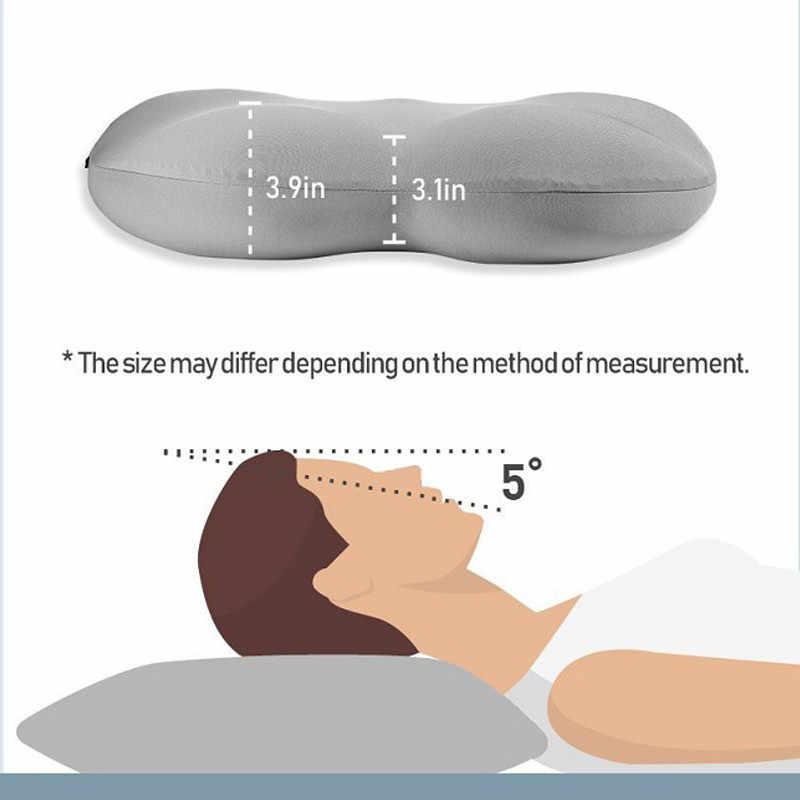 3D Collo Micro Airball Cuscino Sonno Profondo Dipendenza Poggiatesta Cuscino D'aria Limitatrice di Pressione Cuscini Regalo Lavabile Federa Coperture