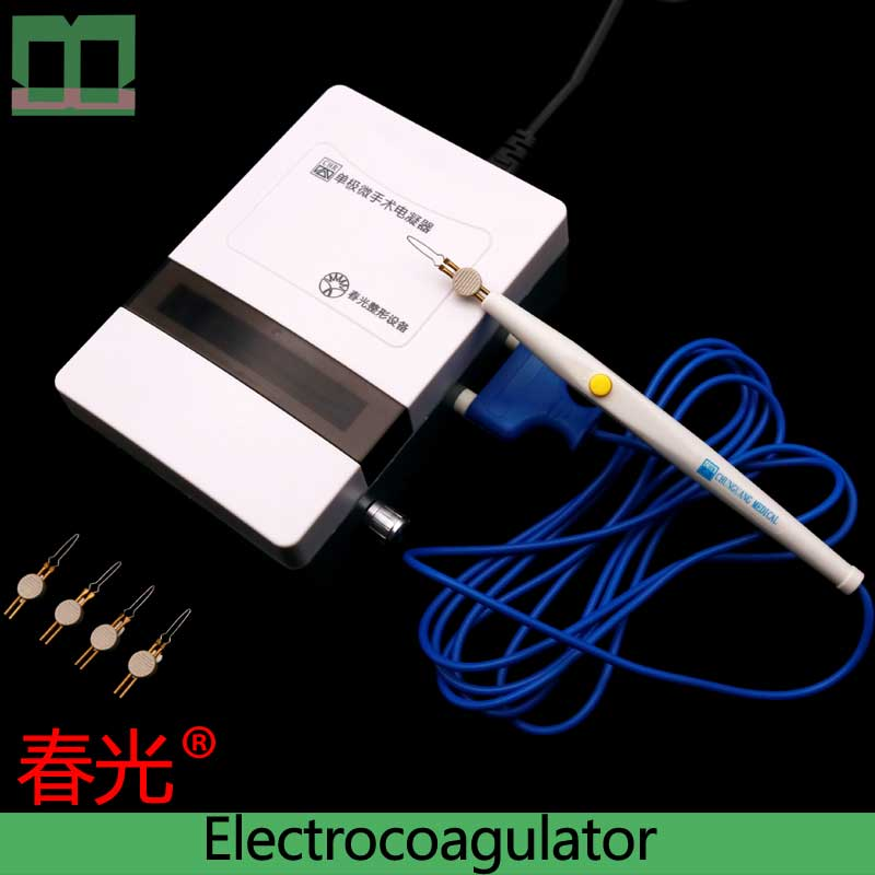 Electrocoagulator Single Stage Surgical Operating Instrument Electric Coagulation Pen Double-eyelid Tool Surgical Instrument