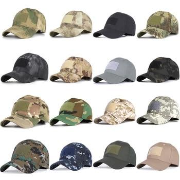 17 Colors Camo Men's gorras Baseball Cap Male Bone Masculino Dad Hat Trucker New Tactical Men's Cap Camouflage Snapback Hat 2020
