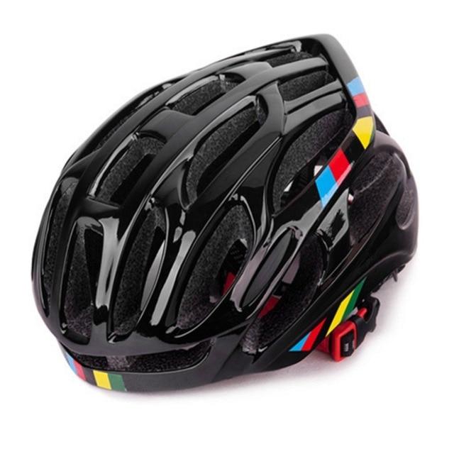 Ventilação suave Homens Mulheres Capacete Da Bicicleta Capacetes de Bicicleta Respirável Back Light Integralmente-moldado Capacetes de Ciclismo de Estrada de Montanha MTB 1