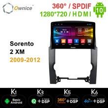 Ownice Octa Core 안드로이드 10.0 DSP 360 파노라마 car dvd for Kia Sorento 2 XM 2009   2012 카 스테레오 GPS Navi headunit 4G SPDIF