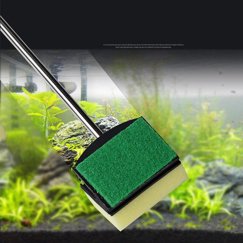 5 в 1 щетка для чистки аквариума набор инструментов для очистки рыбной сетки гравийные грабли, скребок для водорослей вилка губка щетка очис...