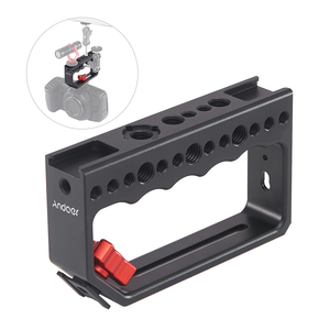 Image 5 - Andoer Camera Cage Cameras Rig Handle Video Stabilizing Rig for Camera Cage Monitor Led Video Light Microphone for DSLR Cameras