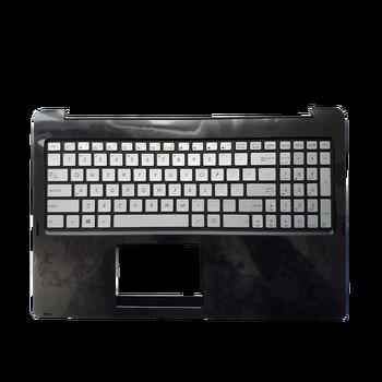 90NB0581-R31US0 US laptop keyboard for ASUS N542LA N542LA-1A Q502LA with Backlit & C-CASE PalmRest BLACK TOPCASE