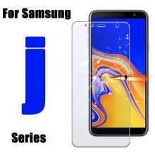 2 sztuk szkło ochronne do Samsung Galaxy J8 j7 Prime folia ochronna Samsung arkusz tremp J4 j6 plus j2 j3 Pro szkło hartowane