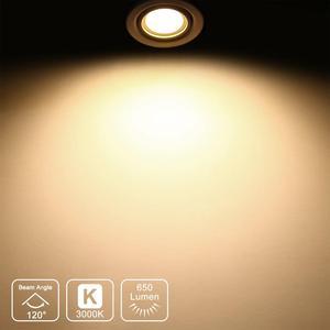 Image 4 - GU10 LED Dimmable Spotlights LED Spot Light Bulbs 7W 120° Wide Lighting Angle Warm White 3000K AC220~240V Trailing Edge Dimmable
