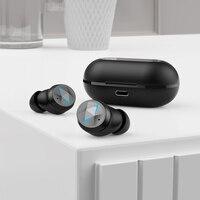 Tws bluetooth 5.0 fones de ouvido com microfone display led sem fio bluetooth fones à prova dwaterproof água cancelamento ruído fone 3