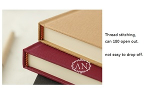 Image 3 - A5 A4 الكلاسيكية بسيطة Hardcopy دفتر الأعمال الرجعية كبيرة Filofax كتيب