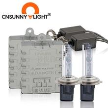 CNSUNNYLIGHT 1s Veloce Luminoso 55W HID Faro Allo Xeno H7 H1 H3 H11 H8 HB3 HB4 9005 9006 881 h27 4300K 6000K 8000K Lampada Della Nebbia