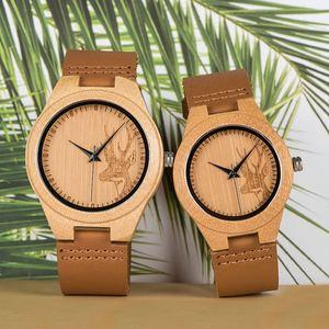 Image 3 - Zegarek dla pary こうのたろうTaro Kono Minister BOBOBIRD drewniany zegarek mężczyźni zegarki niestandardowy prezent miłośników prezenty na rocznicę w drewniane pudełko