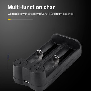 Image 2 - VOXLINK 18650 battery charger Smart charging 2slot USB2.0 26650 18350 32650 21700 26500 Ni MH/Ni Cd Rechargeable Battery charger