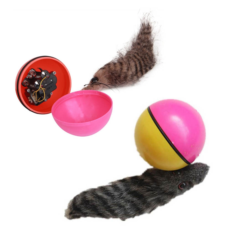 Electric Toy Coypu Ball Toy Beaver Ball Water Mouse Toy Will Swim Top Ball Electric Play Ball Color Random