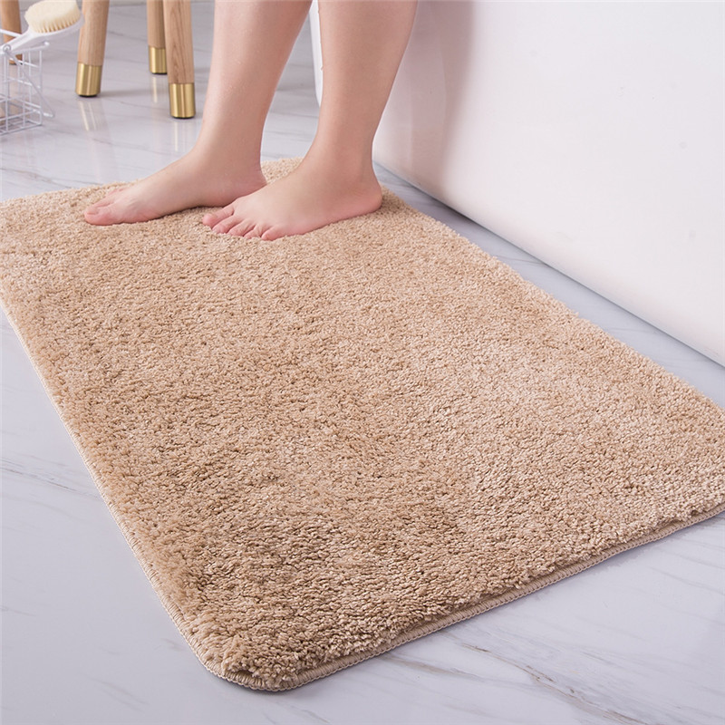 High Hair Thickening Carpets Home Living Room Kitchen Door Bath Mat Bathroom Mat Absorbent Cross-Border Generation