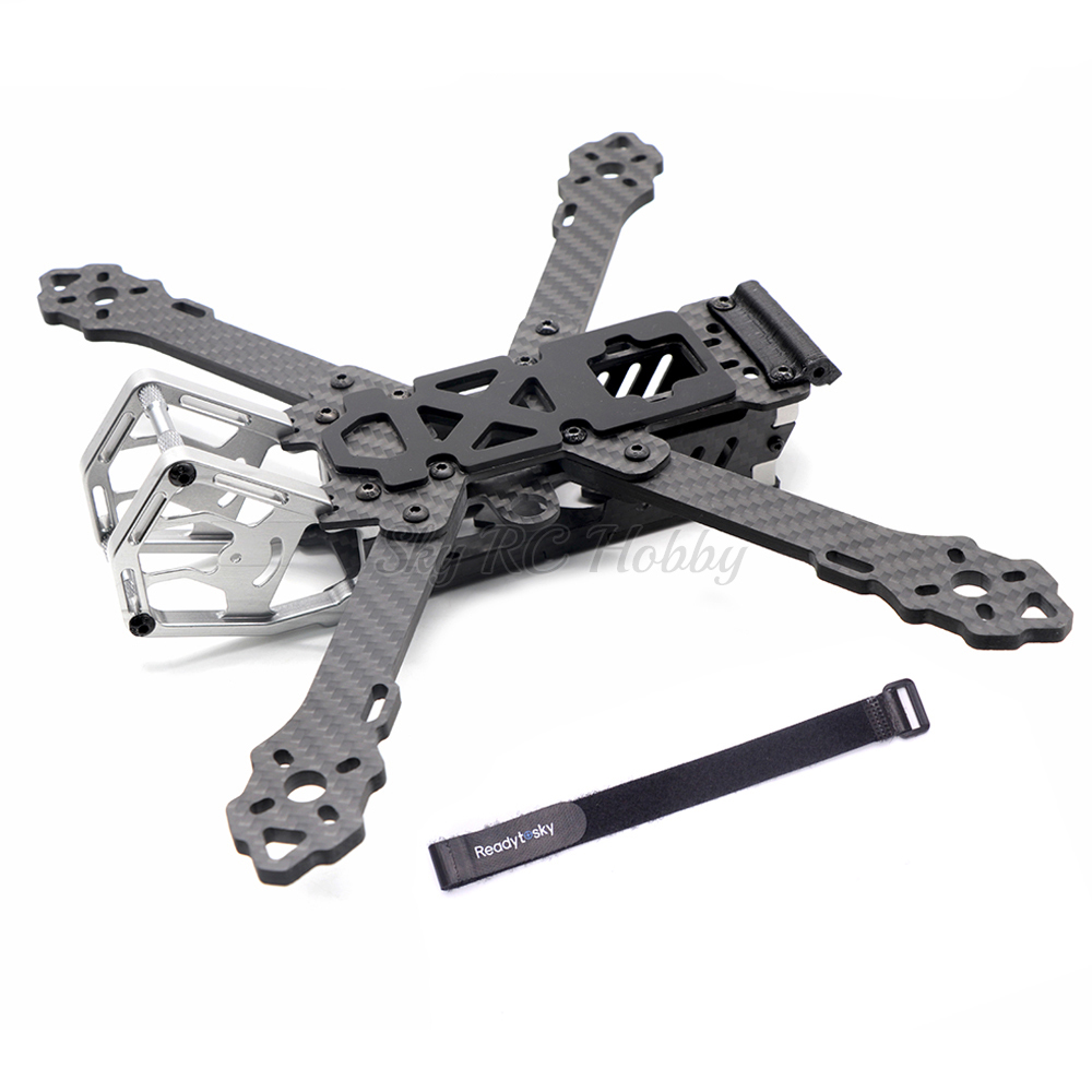 KT230 5inch 230mm 230 / KT260 6inch 267mm / 7inch 300mm 5 6 7 Inch Carbon Fiber Frame For Chameleon FPV Quadcopter Racing Drone