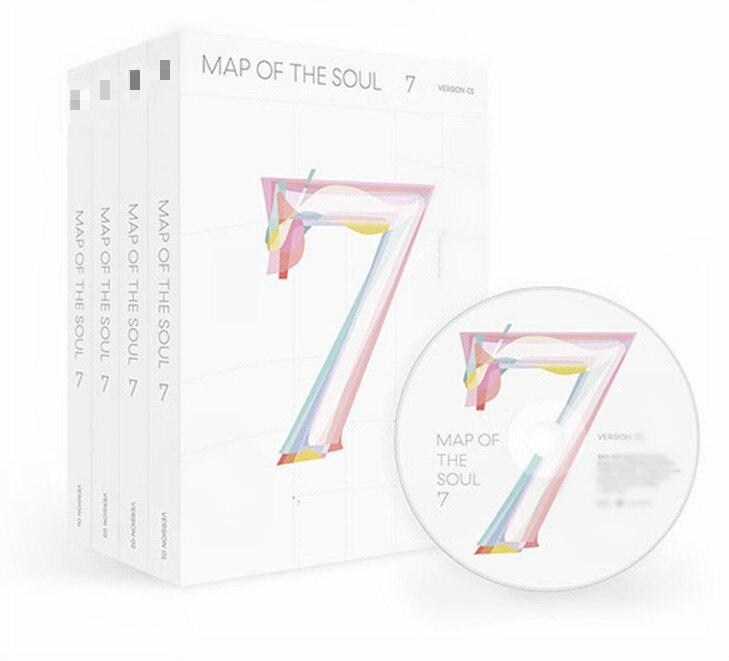 [MYKPOP] ~ 2020 nuevas ~ 4 versiones para elegir ~ Mapa del alma 7 ~ álbum CD Set ~ KPOP colección de fans SA20022201 - 2