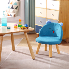 Furniture Home-Sofa-Chair Children Low-Stool Solid-Wood Meubles