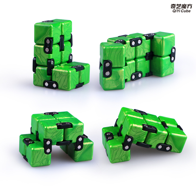 Qiyi Infinite cube Puzzle Toy 2x2 Magic Cubes Flip Cubic Stress Reliever Toys Children Gift 2x2x2 Speed Cubo magico 3
