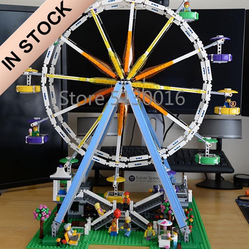 10247 Creator Ferris Wheel 15012 2478Pcs Street View Model Building Blocks Bricks Toys 15008 15009 15010 15011 15037