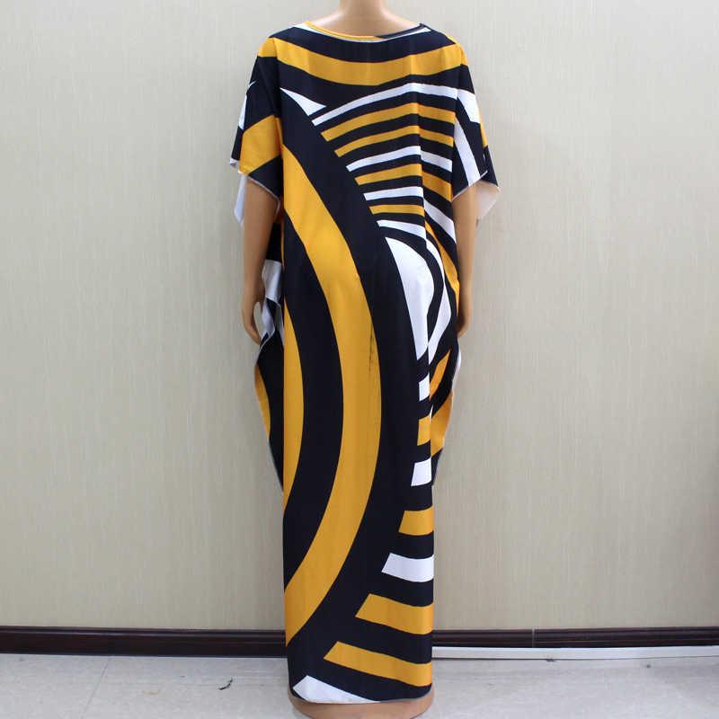 2020 maravilhoso bonito africano dashiki design de moda impressão amarela vestido feminino africano inverno moda vestidos para festa