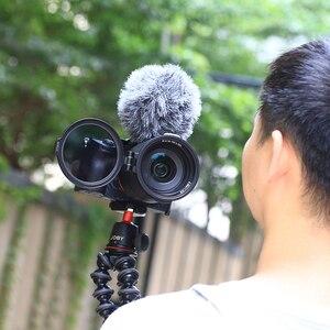 Image 2 - UURig Rapido Sistema di Filtraggio A Sgancio Rapido di Vibrazione della Staffa di Interruttore di Clip di Lente 77 82 67 MILLIMETRI per Sony Canon Nikon DSLR accessori della fotocamera
