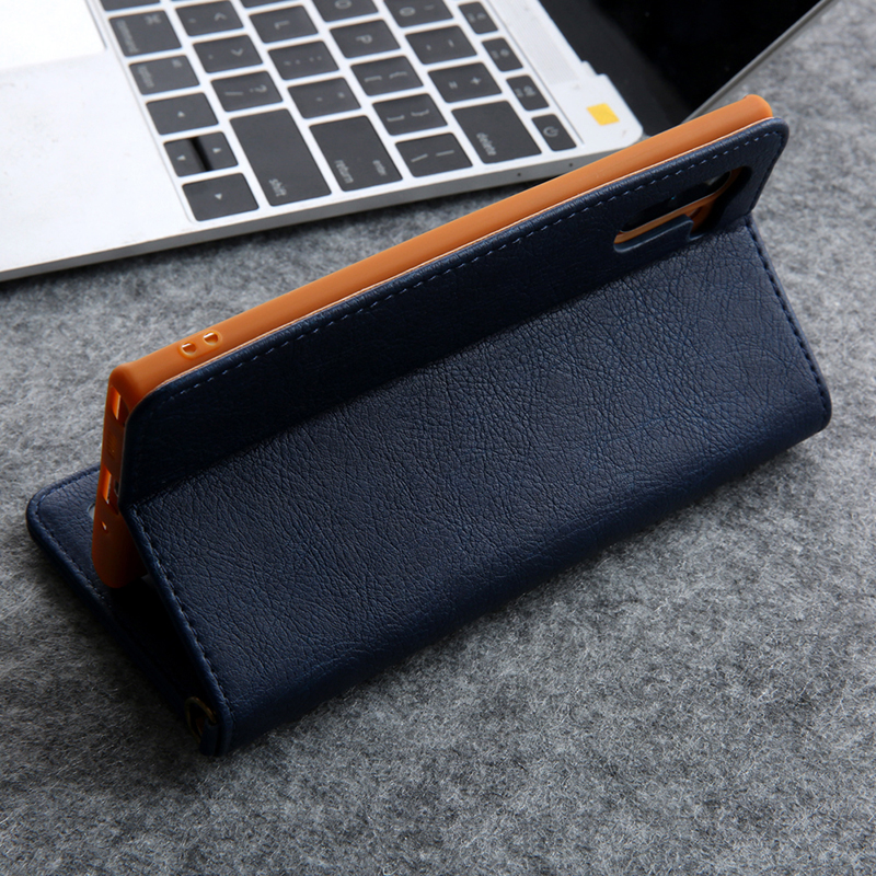 Hidden Rotation Cards Holder Wallet Case For Samsung S20 Ultra Note 10 + 8 9 S8 S9 S10 Plus S7 Edge Flip Leather Phone Case Capa