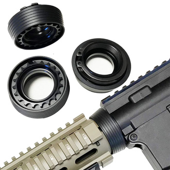 Magorui Tactical Hunting Delta Ring Assembly Barrel Nut Kit for M4/M16 Airsoft AEG Handguard Accessories vulpo 3pcs lot high strength plastic double o ring air seal m4 nozzle cross style for airsoft aeg m4 hunting accessories