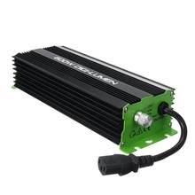 Цифровые балласты 600 Вт с европейской вилкой для садовых растений, лампы для выращивания HPS MH, электронные лампы с регулируемой яркостью 220 В-240 в 50-60 Гц