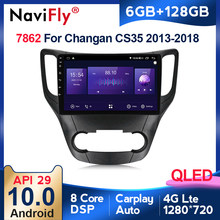 6G + 128G Android 10 QLED 4G LTE Für Changan CS35 2013 - 2017 Auto Radio Multimedia video Player Navigation GPS Carpaly 2 din dvd