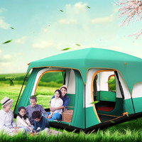 Outdoor Tent Waterproof Carpas De Camping Tents Dual Layer Ultralight 8 Person Beach Tent Hiking Travel Tent Barraca Acampamento