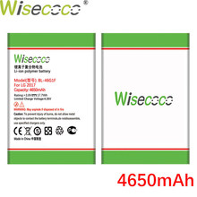 Wisecoco 4650mAh BL-46G1F Batterie Für LG 2017 Version K10 Telefon Auf Lager Neueste Produktion Hohe Qualität Batterie + Tracking code