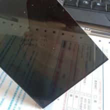 Transparent Black Plexiglass plastic Sheet acrylic board organic glass polymethyl methacrylate 1mm 3mm 8mm thickness 200*200mm