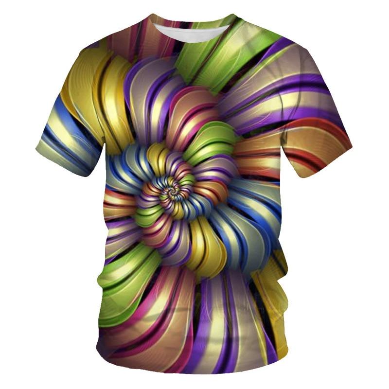 Мужская футболка с 3D принтом, новинка, брендовая футболка с коротким рукавом, Мужская забавная футболка в стиле Харадзюку, облегающая футболка в стиле хип-хоп, уличная футболка, Homme - Цвет: NT-102
